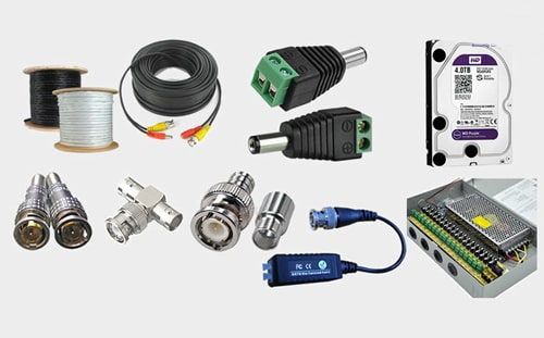 فروش لوازم های جانبی دوربین های مداربسته ارتباط با اپراتور